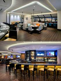 New Aviation Grille Newark Airport Marriott hotel restaurant