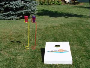 The Backyard Butler by Outdoors Unlimited is the perfect companion for any outdoor activity.