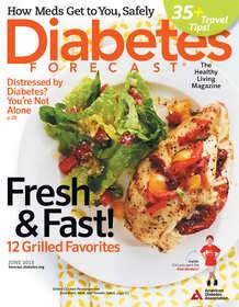 Diabetes Forecast magazine, June 2013 cover