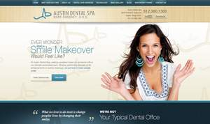 Austin Cosmetic Dentist Launches New Website