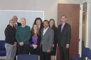 Gov. Brown with Tribal Leadership after signing the Amended Compact for the Shingle Springs Tribe.  November 2012