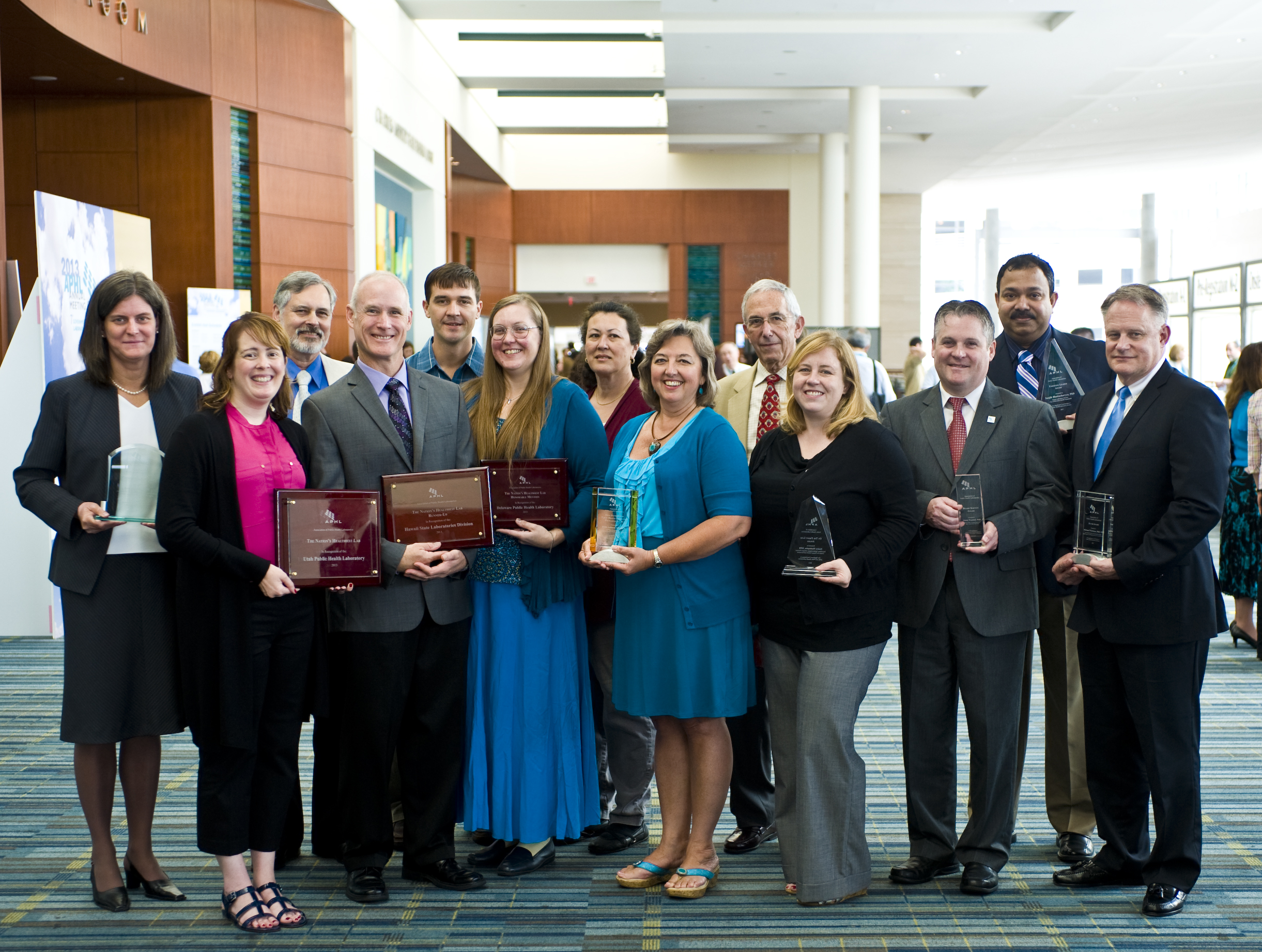 APHL Award Winners