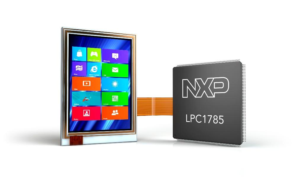 NXP LPC1785 microcontroller