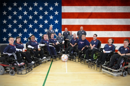 Team USA National Power Soccer Team--World Cup Champions 2007, 2011