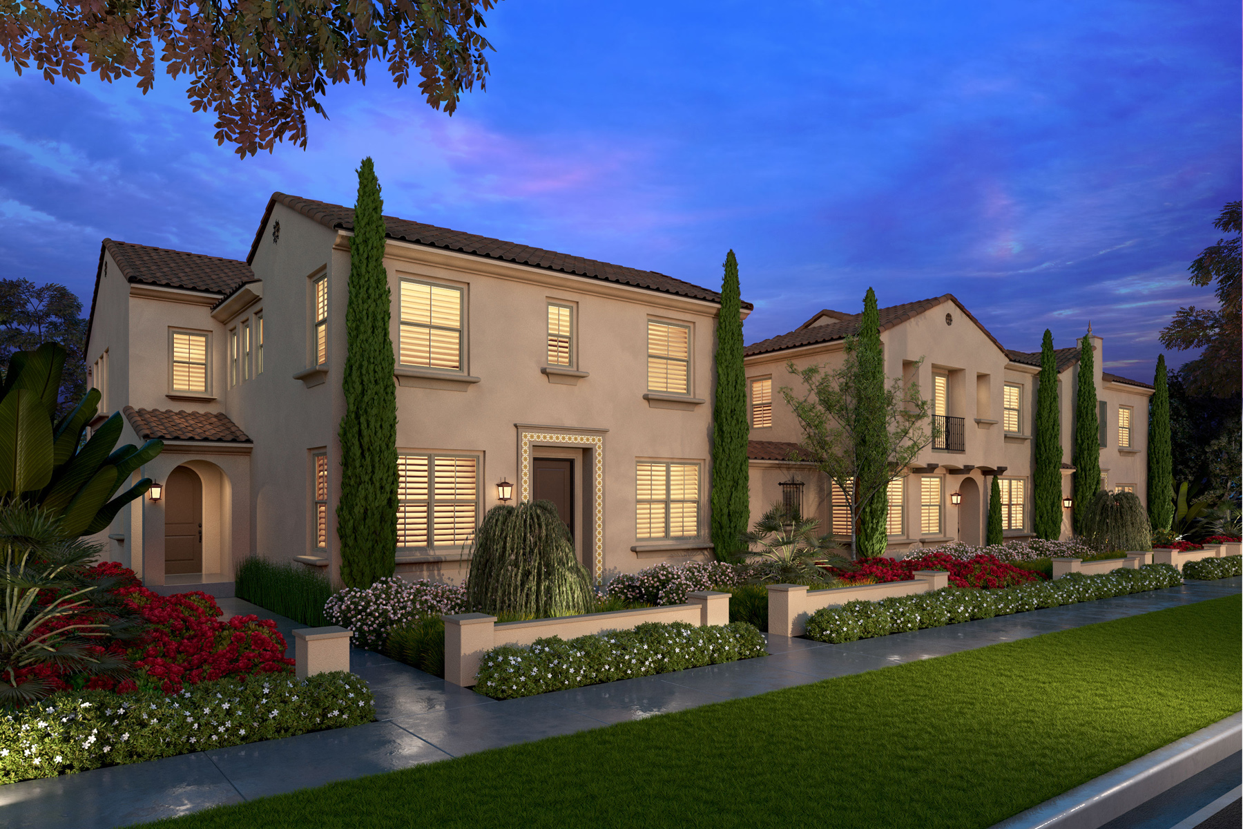 caserta, townhomes, flats, irvine new homes, irvine real estate, new irvine homes