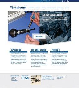 Malcom Technologies Hot Air Tools Website