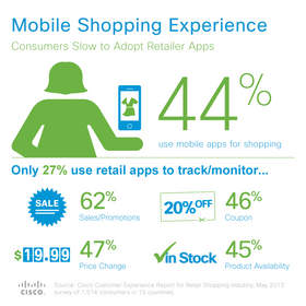 Mobile Shopping Experience: Cisco Customer Experience Report, June 2013