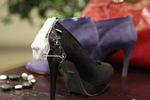 Tyco Retail Solutions offers the only tag of its kind to help retailers prevent footwear theft.