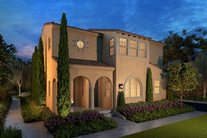 luna, courtyard homes, new courtyard homes in irvine, irvine, village of portola springs