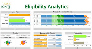 Ignite Sales Eligibility Analytics Dashboard for Retail Banks
