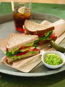 Best of Summer Avocado Veggie Sandwich