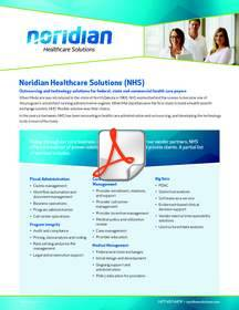 NAS, Noridian, Medicare, Medicaid, HIX, Maryland Health Benefit Exchange