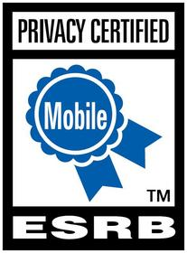 ESRB Privacy Seal for Mobile App