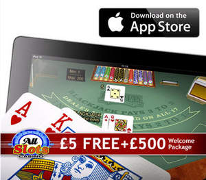 All Slots Mobile Casino - now on the App Store in the UK