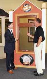 Doug Cook and Mayor Matt Bogusz