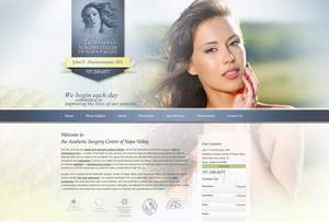 Napa Valley Plastic Surgeon Launches New Website