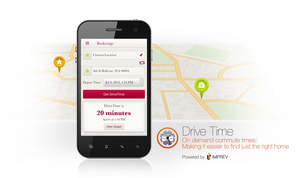 Imprev-powered INRIX Drive Time App