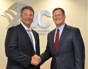 ABC President & CEO Michael Bellaman and Maxwell Systems President & CEO Jim Flynn Sign Strategic Partnership
