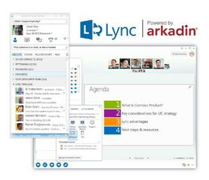 Lync Gains Power with Arkadin's Two-Tiered Approach