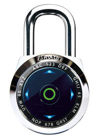 The dialSpeed(TM) Digital Combination Padlock allows users to gain access to their belongings with the easy-to-recall, ultra-fast directional interface. Each lock gives users access to multiple set-your-own primary and guest codes and comes pre-programmed with a unique permanent Backup Master Code available at www.masterlockvault.com.