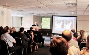Professor Smith presents at the Premier Event for Practitioners at Medserena Upright MRI Centre