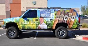 Custom Vehicle Wrap, USA Custom Graphics