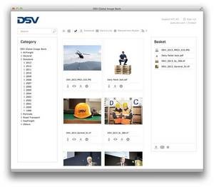 Create custom digital asset management Web portals for customers, partners,employees and the press.