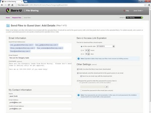 image of SolarWinds Serv-U Managed File Transfer Server