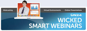 MEDIA ALERT: Are You Wicked Smart About Webinars?