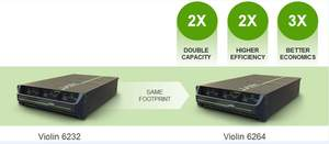 Keeping the same 3U form factor as the 6232, customers will get 2x capacity (64TB), 2x higher efficiency, 3x economics with the 6264.