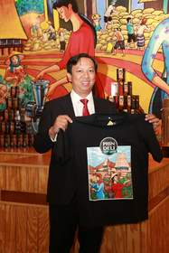Nguyen Dinh Pham in the PhinDeli Town Buford Store