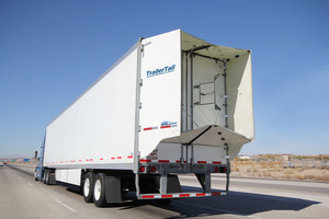 TailerTail Fuel Saving Aerodynamics Technology now Option Wabash National Trailers