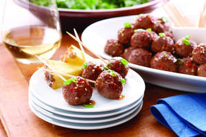 Sweet & Sour Lamb Meatballs