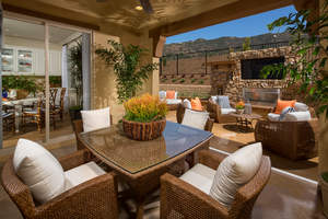 azusa new homes, wisteria, outdoor living rooms, rosedale, azusa real estate