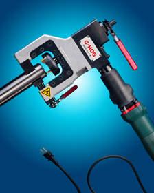 The ESCO Electric C-MILLHOG(R) O.D. Clamping End Prep Tool