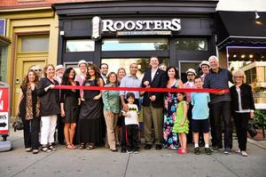 Roosters MGC ribbon cutting in Hoboken