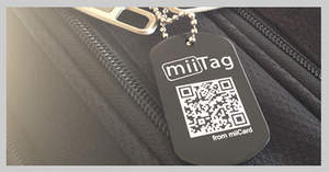 miiTag for your luggage