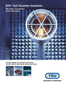 The EMC Test Chamber Solutions Brochure from TRU Corp.