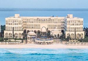 Hoteles en la playa de Cancun