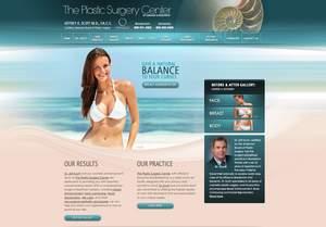 Plastic Surgeon in Florida Upgrades Medical Website Design
