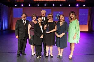RMHC Turkey Pediatric Developmental Unit received the RMHC Hearts & Hands, Kim Hill Awards