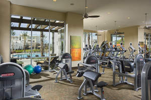 private gym, private community, gated community