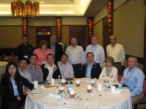 Amlan International sales and technical team at the Global Sales Meeting in Itasca, IL USA.