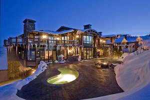 ski dream home, luxury ski rental, resorts west, park city luxury rental, holiday ski package