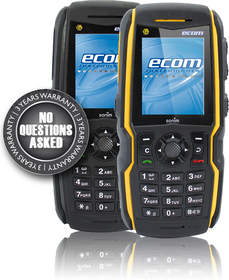 Enhanced Communication in Hazardous Areas with the Ex-Handy 08 intrinsically safe mobile phone