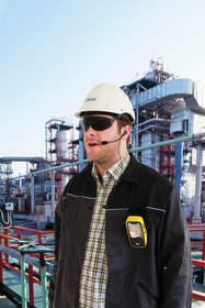 Safe communication worldwide: Great practical features and accessories make the intrinsically safe mobile-phone Ex-Handy 08 a powerful and individual device.