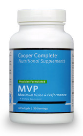 The health experts at Cooper Aerobics, led by preventive pioneer, Kenneth H. Cooper, M.D., MPH, have recently launched Cooper Complete MVP, a supplement with a scientifically proven formula to deliver key nutrients for enhanced vision.