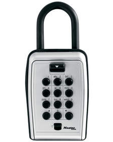 Instead of a hide-a-key, use the 5422D Portable Key Safe to securely store an extra set of house keys so that children (or parents) are never locked out.