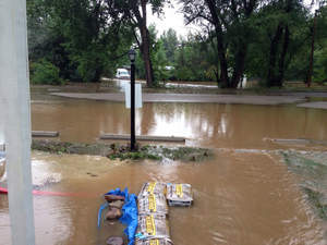 Congregation Bonai Shalom's synagogue and the Rabbi's residence were devastated by recent Colorado floods.