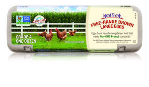 NestFresh cage-free and free-range eggs are Non-GMO Project Verified and available nationwide